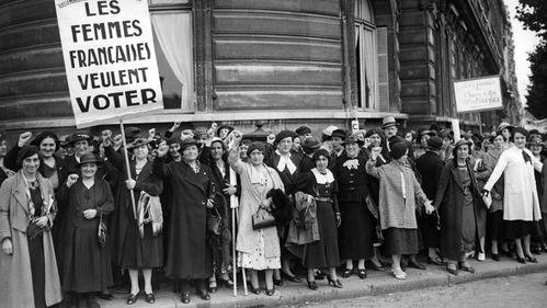 Les Françaises veulent voter