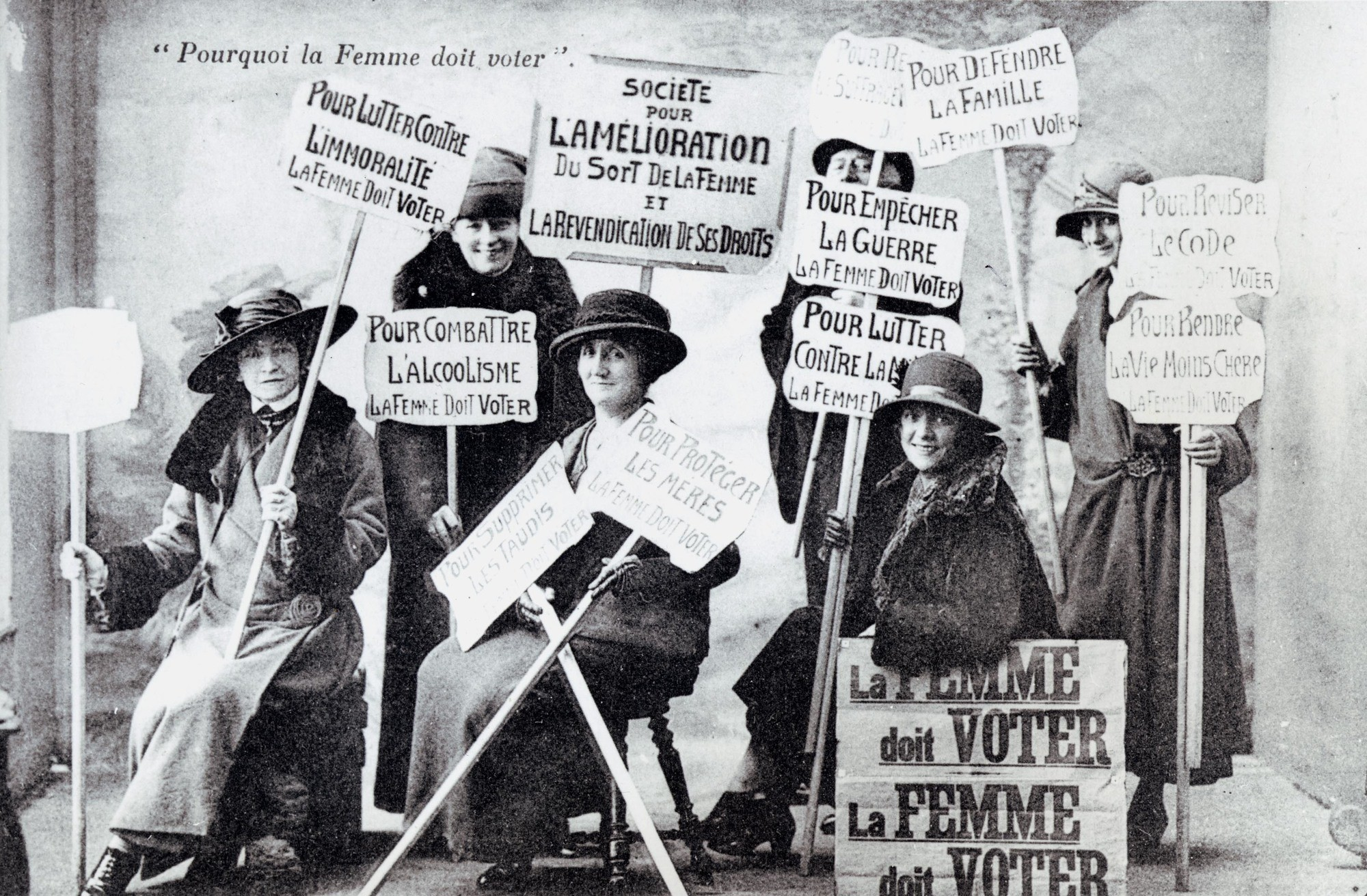 Le 21 avril 1944, les Françaises obtenaient – enfin ! – le droit de vote