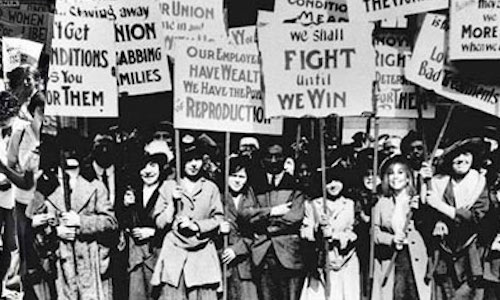 Les Suffragettes à Londres en 1903