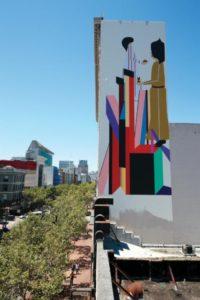 La street-artiste Clare Rojas