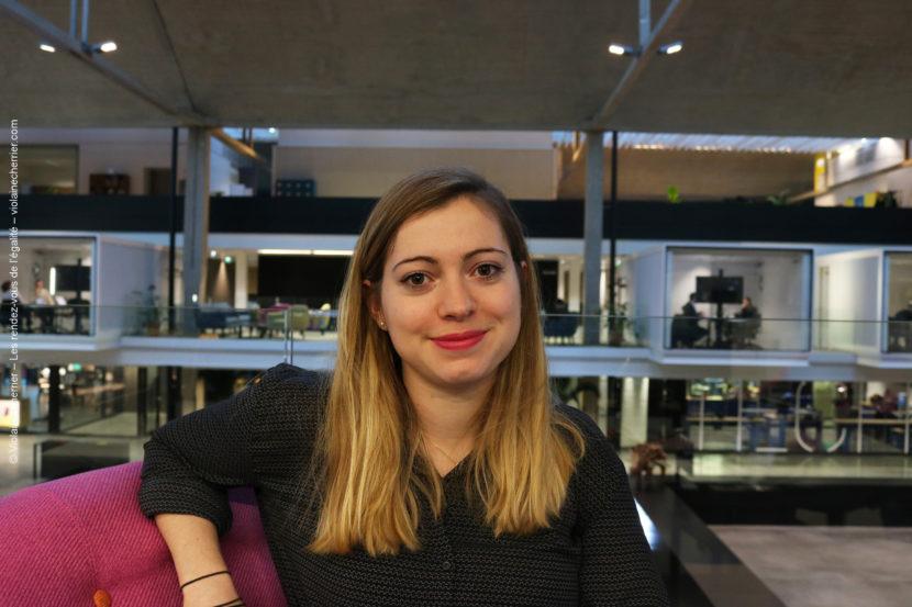 Carole Danancher, CEO et cofondatrice de la startup @Allvibes