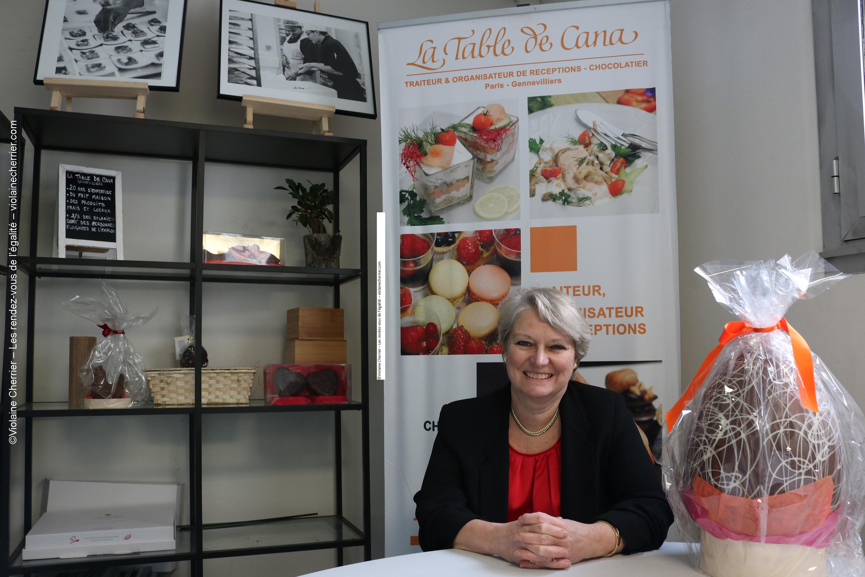 Sylvie Roussel, Responsable RH et chargée d'insertion de La Table de Cana Paris-Gennevilliers