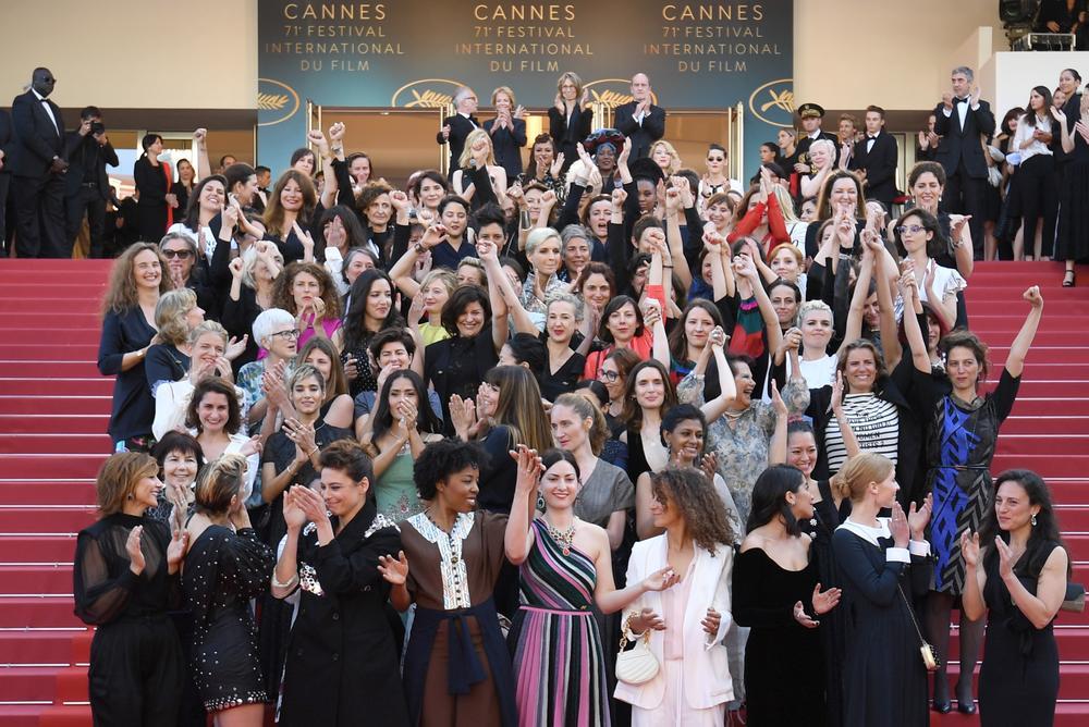 82 femmes sur les marches du festival de Cannes