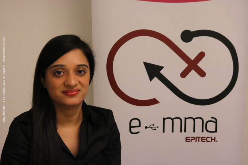 Dipty Chander, présidente de l'association E-mma