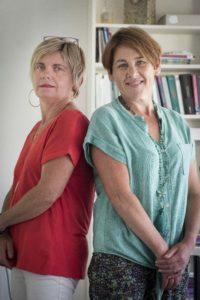 Françoise Le Rest et Isabelle Gueguen, cofondatrices de Perfégal, , cabinet de conseil dans le domaine de l'égalité & la mixité professionnelle et de l'intégration de l'égalité femmes / hommes dans les politiques publiques et les projets