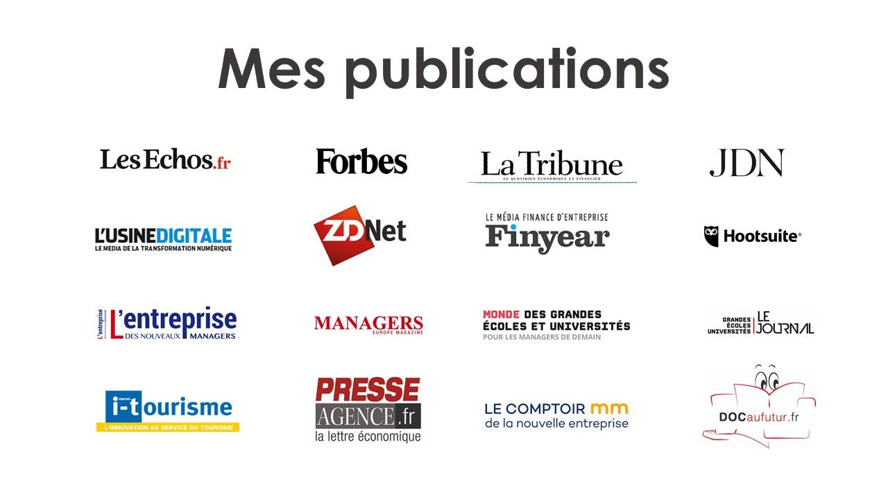 Mes articles publiés