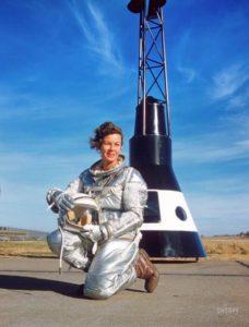 Betty Skelton pour le magazine Look en 1960