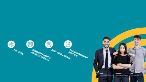 Conseil en transformation des Systèmes d'information et Organisation