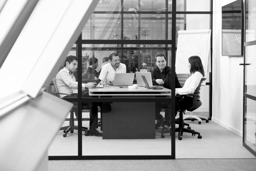 L'équipe WeQan en réunion