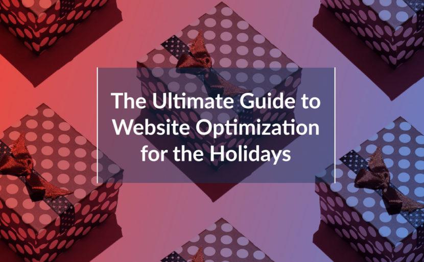 Livre blanc Optimisez votre site web pour les fêtes