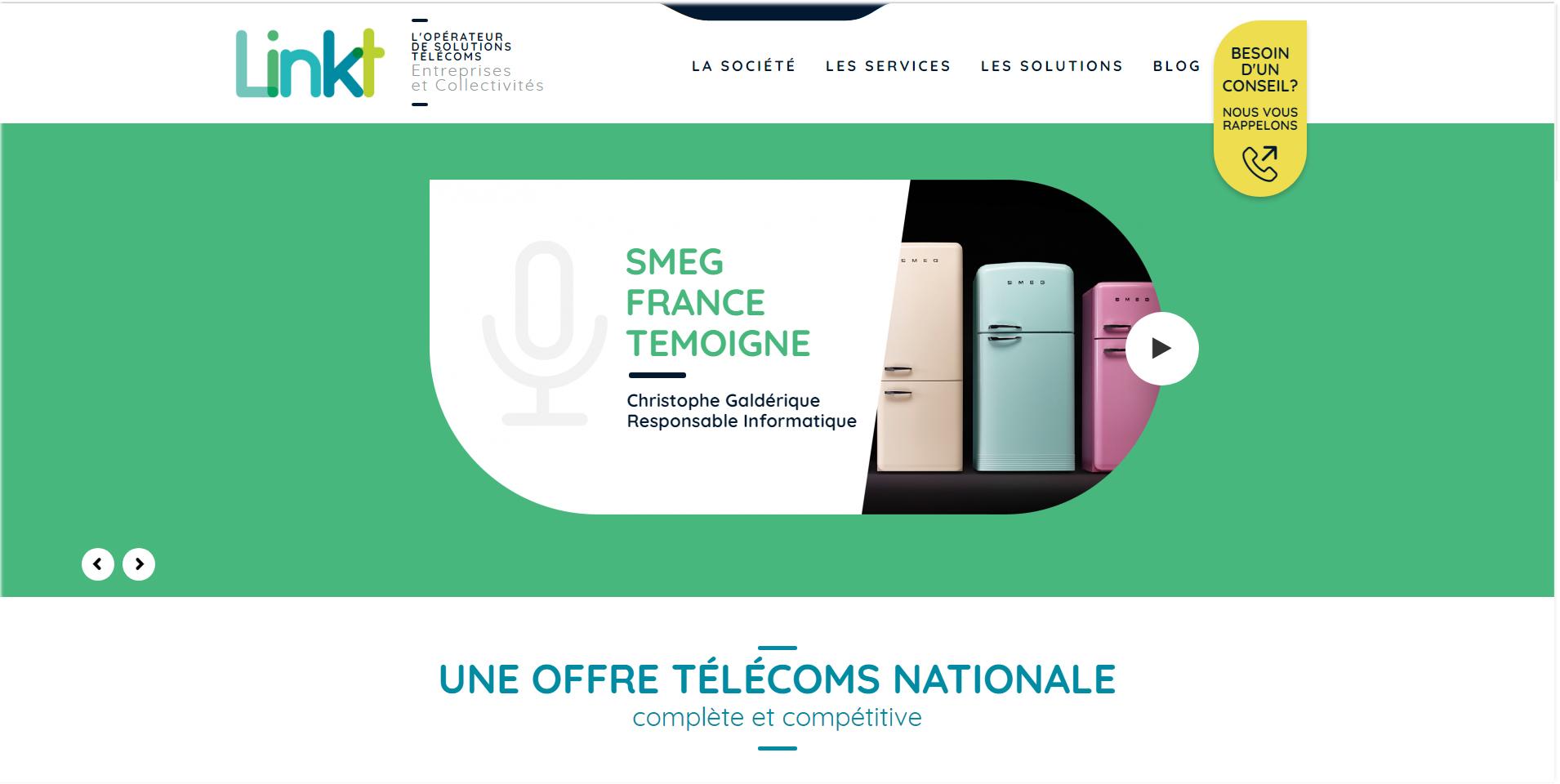 Linkt, opérateur de solutions télécoms